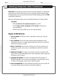 in her scholastic book 50 mon core reading response activities used with permission pryle rrguidelines