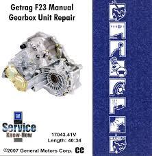Gm Getrag F23 Gearbox Unit Repair 14043 41v 1 - YouTube