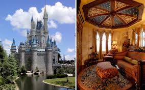 Hotel Castle Blue Secret Hotel Suite Inside Disneys Cinderella Castle Travel