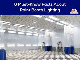 Spray Booth Lights Used 6 Must Know Facts About Paint Booth Lighting Accudraft