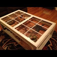 view larger coffee table