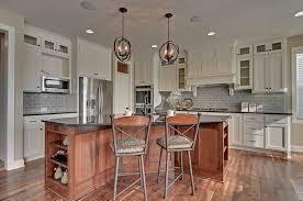 kitchen tiles design ideas. Spacious Kitchen With Two Backsplashes Tiles Design Ideas