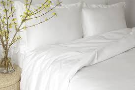 individual bedding organic sateen white ivory