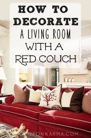 how to decorate with red furniture. How To Decorate Living Room With Red Couch Coupon Karma More Furniture