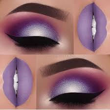 purple eyeshadow icy purple makeup look gorgeous makeup beauty ideas beauty tips