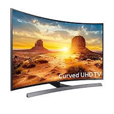 samsung 55 inch smart tv. samsung un55ku6600 curved 55-inch 4k ultra hd smart led tv (2016 model) 55 inch tv