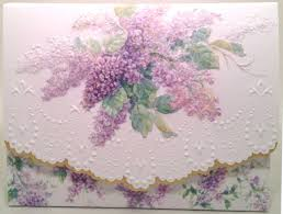 purple note cards carol wilson stationery 10 note cards envelopes blank purple lilacs