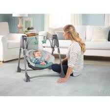 Graco Swing By Me Portable Baby Swing, Cleo - Walmart.com