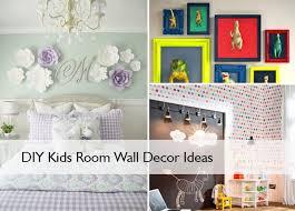 diy kids room wall decor ideas