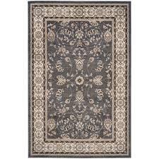 safavieh lyndhurst gray cream 8 ft x 10 ft area rug