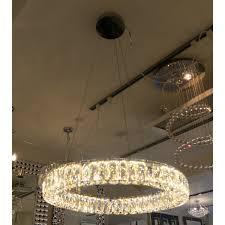crystal ring large pendant light lightbox lightbox