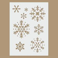 Best 25+ Snowflake stencil ideas on Pinterest | Snow flakes diy ... & Snowflake - Christmas / Winter Stencil Adamdwight.com