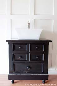 Bathroom Paint Finish Turning Our Nightstand Into Our Bathroom Vanity Americanaar Decor