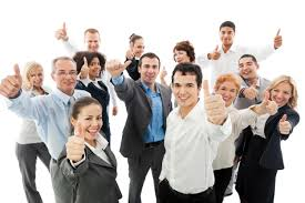 Successful Business People Showing Thumbs Up Metalogic Ltd
