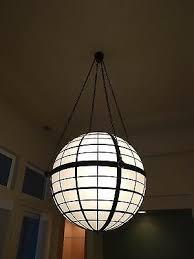 large globe pendant lighting fixture