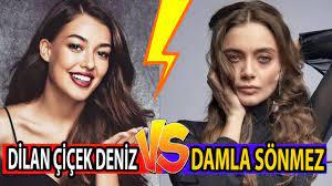 Dilan Çiçek Deniz mi vs Damla Sönmez (Alev Alev - Çukur ) - YouTube
