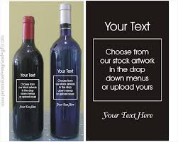 Design Your Own Wine Bottle Labels Build Your Own Engraved Wine Bottled Wine Bottles
