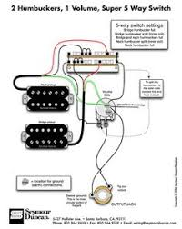 humbucker pickup wiring diagram diagram pinterest guitars Dimarzio Wiring Schematic Model One www jemsite com forums f35 wiring DiMarzio Wiring Colors