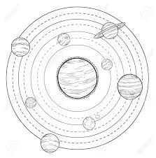 Doodle solar system vector illustrations photo 44689539 stock vector doodle solar system vector illustrations html solar system drawing stock vector