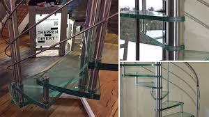 Bei uns finden sie ihre neue treppe! Treppen Direkt Gmbh Spindeltreppe Aus Edelstahl Mit Glasstufen Treppen De Das Fachportal Fur Den Treppenbau