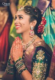 beautiful south indian bride makeup and hair blush fine makeup art photography cliquestudio in south indian bride south asian bride hindu bride