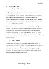 change management report david jones 16