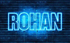 names horizontal text rohan name