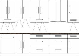 Briliant Kitchen Cabinet Depth And Height 18 Guide To Standard Kitchen   Kitchen