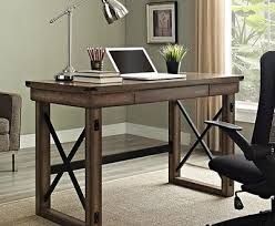 home office furniture indianapolis industrial furniture. Industrial Writing Desk Wood Grey Gray Modern Metal Rustic Intended For Home Office Plan Furniture: Furniture Indianapolis .