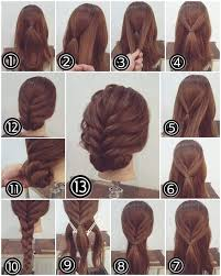 easy hairstyles for short hair step by step