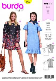 Burda Patterns Magnificent Burda Style Dress Sewing Patterns