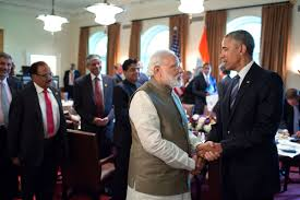 Obama And Cabinet Filepresident Barack Obama And Prime Minister Narendra Modi Talk