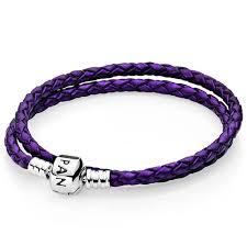 pandora purple double braided leather bracelet pandora rings pandora charms disney official website