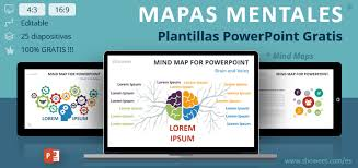 Plantillas De Mapa Mental Mind Map Para Powerpoint