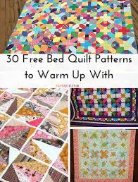 Queen Size Quilt Patterns Custom 48 Free Bed Quilt Patterns To Warm Up With FaveQuilts