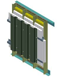 fire and blast protective wall systems