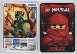 2011 Lego Ninjago - Masters of Spinjitzu Trading Card Game Lizaru ...
