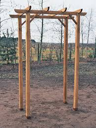 Simple Pergola How To Build A Freestanding Wooden Pergola Kit Howtos Diy 7012 by xevi.us