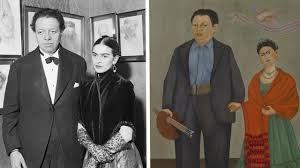 Frida Kahlo and Diego Rivera's Wedding Portrait  Sotheby's
