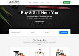Bootstrap Website Classimax Bootstrap Classified Responsive Theme Themefisher
