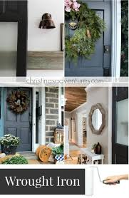 Wrought Iron Color Our House Modern Farmhouse Paint Colors Christinas Adventures