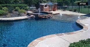 Pool Remodel Dallas Interior Custom Design Ideas