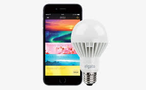 wireless lighting solutions. Elgato Light Bulb With Black IPhone Installed App To Control Lighting Wireless Solutions O