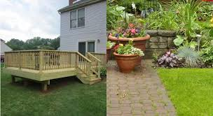 Patios Vs Decks What S The Difference