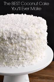 This Is The Best Coconut Cake Recipe Ive Ever Made This Easy