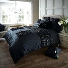 full image for impressive verina duvet cover with pillowcase quilt cover bedding black duvet covers king