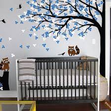 nursery wall tree decal rac corner