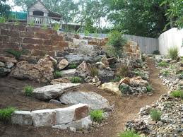 best landscaping with river rock