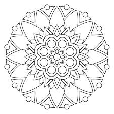 Bunch Ideas of Printable Mandala Art Coloring Pages Easy On Letter ...