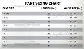 Goalie Pants Sizing Chart Www Totalhockey Com Ui Sizing Warrior Goalie